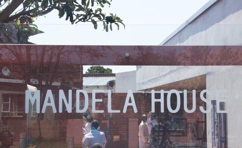 Casa de Mandela, em Soweto, Johannesburgo
