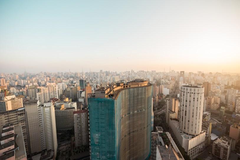 Centro de São Paulo, vista do Terraço Italia