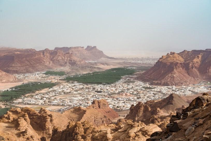 Al-Ula, cidade no deserto da Arabia Saudita. Por Delicia de Blog.