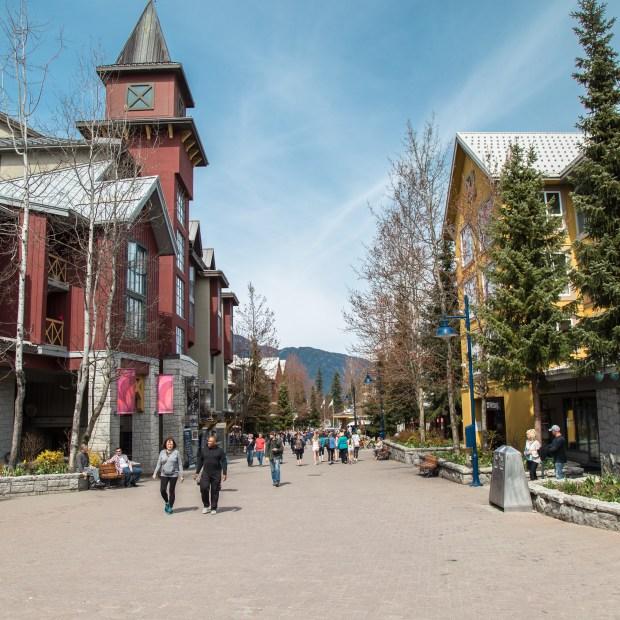 Whistler: montanhas e neve pertinho de Vancouver