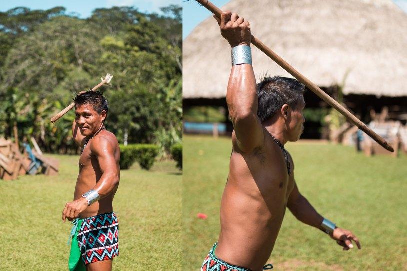 Medalha de ouro nas Olímpiadas Indígenas que aconteceu no Brasil
