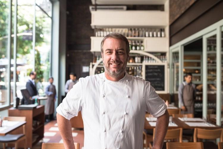 Chef Paulo Barros no Modern Mamma Osteria, em Sao Paulo