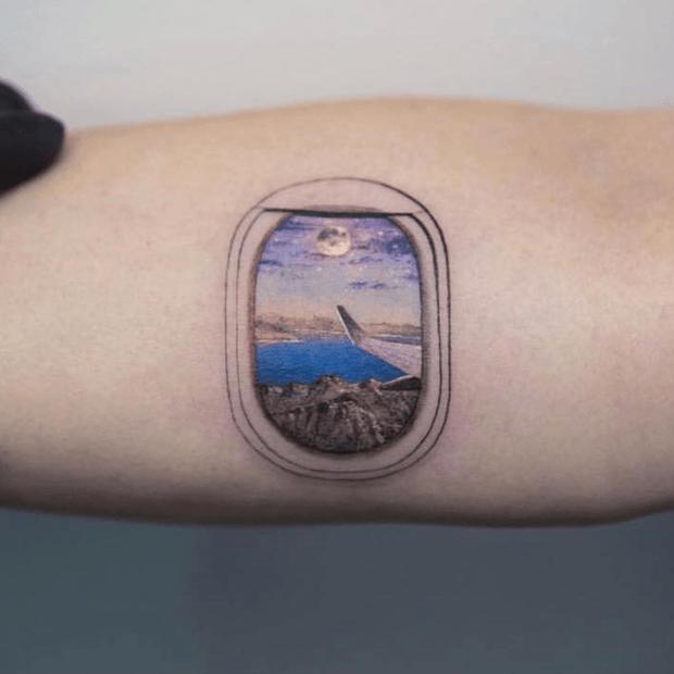 Seleção de 30 tatuagens para quem ama viajar