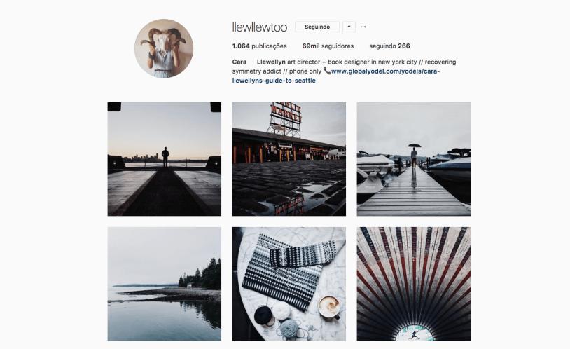 Mulheres pra seguir no Instagram: Llewellyn