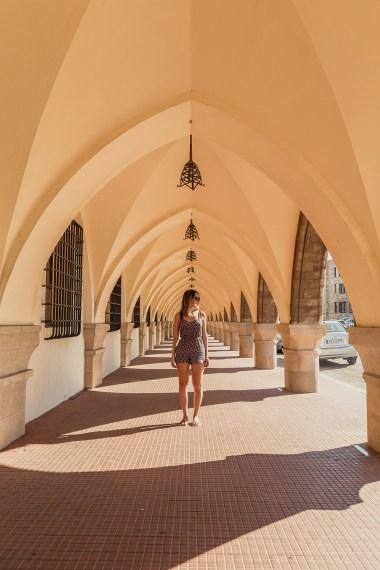 Há muitos locais historicos interessantes na ilha de Rhodes, parte de um cruzeiro na Grecia.