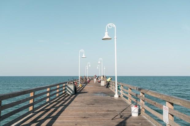 Pier de Daytona Beach visto de frente