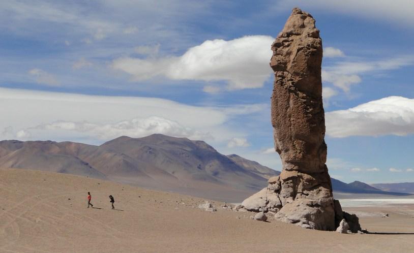 Formações rochosas do Deserto do Atacama, no Chile. Por Raira Venturieri
