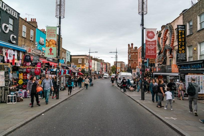 Dicas de viagem em Londres: Camden Town