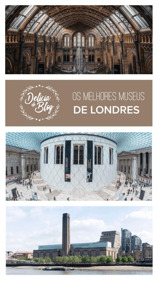 Dicas de viagem em Londres: os melhores museus da capital da Inglaterra