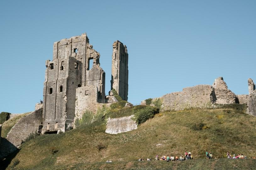 O que fazer em Dorset, na Inglaterra: as ruínas do Corfe Castle
