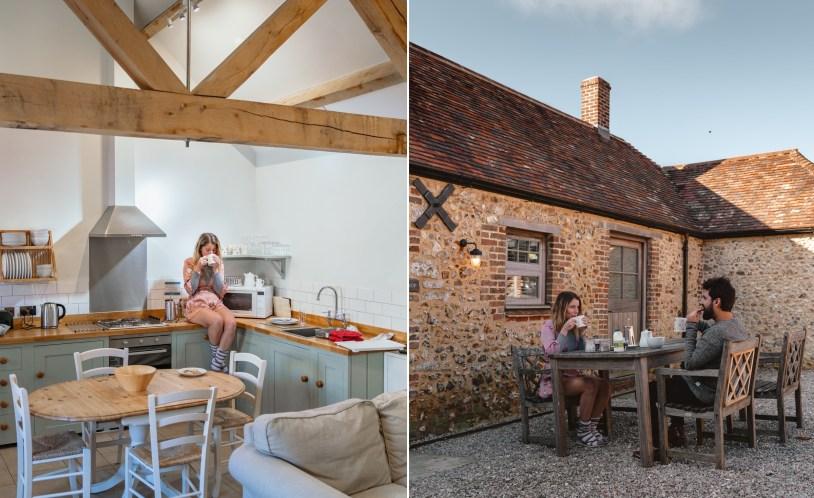 O que fazer em Dorset, Inglaterra: se hospedar em um chalé em Durdle Door