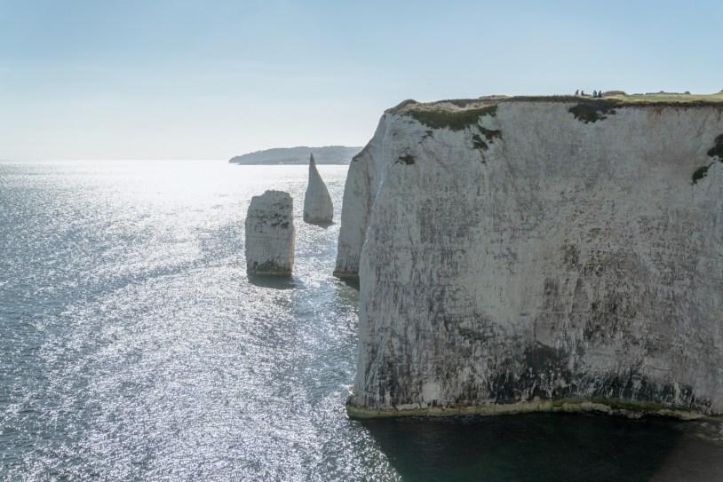 O que fazer em Dorset, na Inglaterra: o mirante de Old Harry Rocks