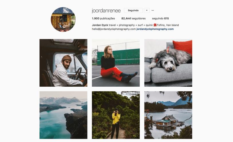 Mulheres pra seguir no Instagram: Jordan Dyck