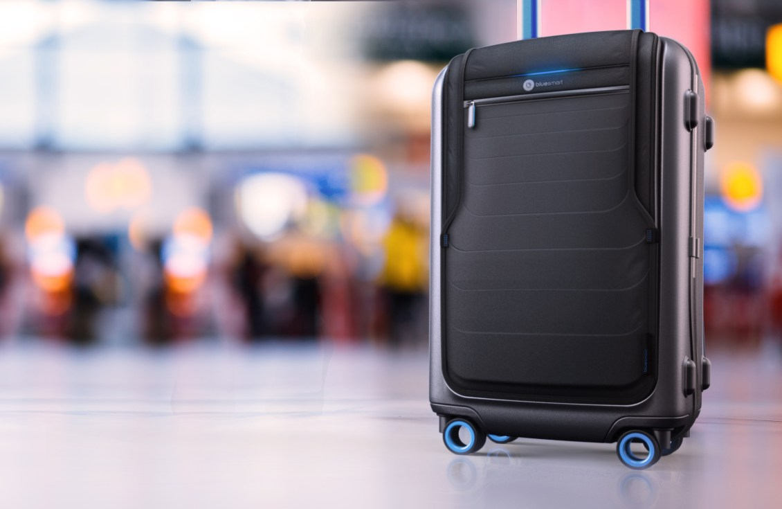 A mala de viagem high-tech
