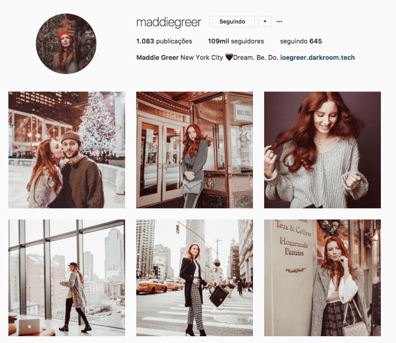 Maddie Greer e outras mulheres inspiradoras para seguir no instagram