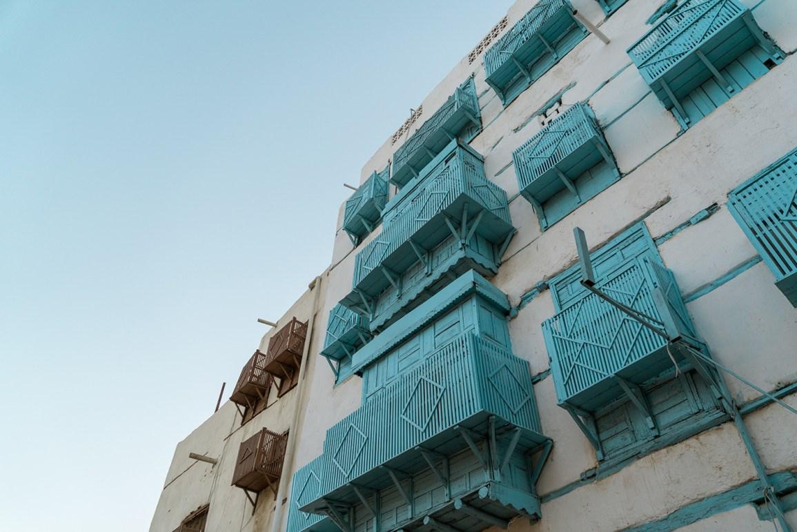 Old Town Jeddah, o centro histórico de Jidá.