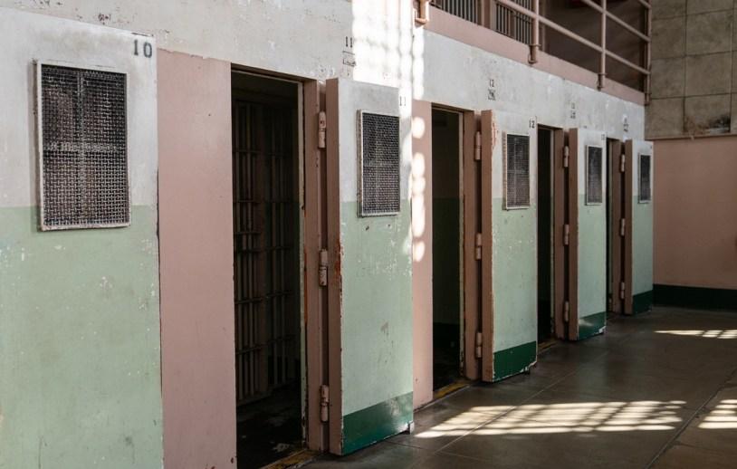 Celas Alcatraz, prisao de segurança maxima nos Estados Unidos