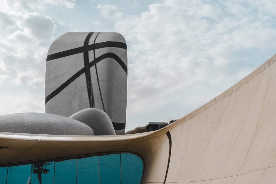 King Abdulaziz Center for Culture, predio moderno dentro da Saudi Aramco, em Dammam, na Arabia Saudita.