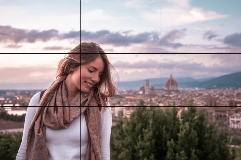 Dicas para tirar boas fotos de viagem: composição com a regra dos terços