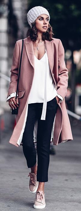Como usar sobretudo colorido neste inverno