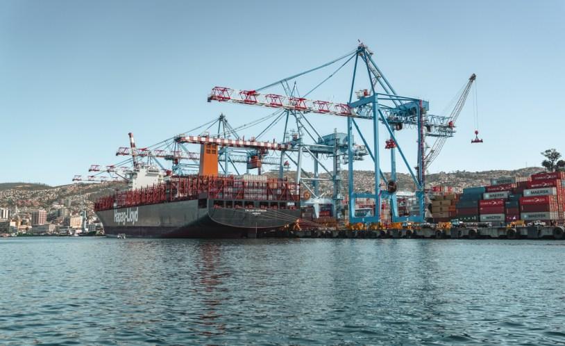 O porto historico de Valparaiso, no Chile