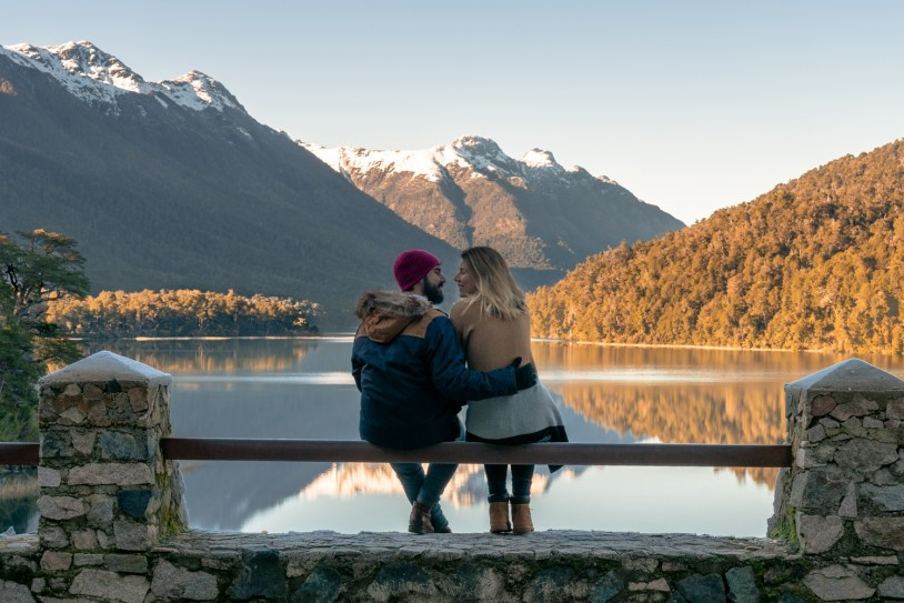 Lago Correntoso, parte do Camino de los 7 lagos da Patagonia Argentina