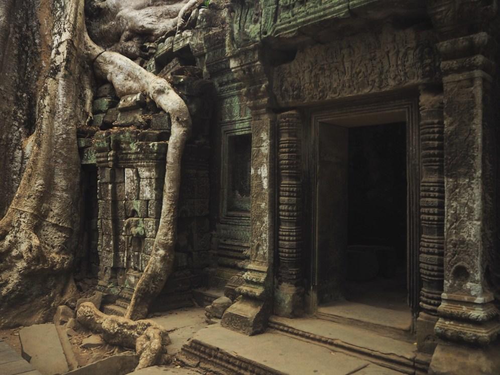 Ta Prohm entrance - Delicieuse Vie - Cambodia