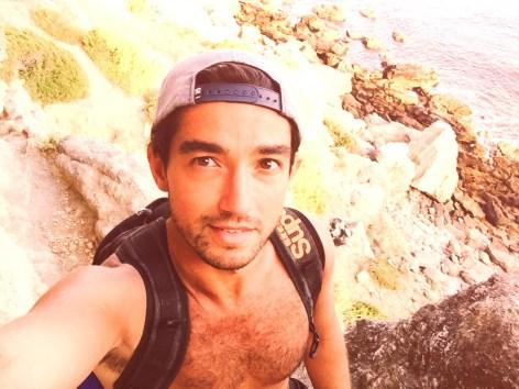 Michael at Praia do Inferno - Delicieuse Vie