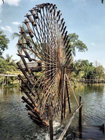 Moulin a eau Village Binh Quoi Ho Chi Minh ©Delicieusevie