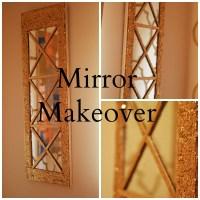 DIY Mirror Makeover