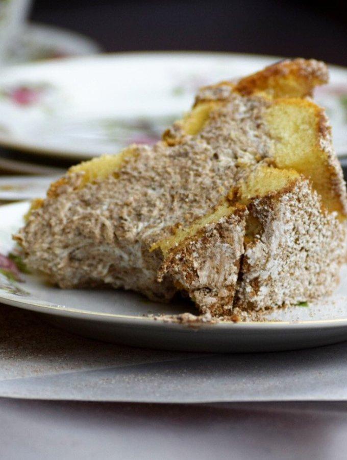 Slice of zuccotto