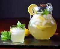 Lemon ginger punch e
