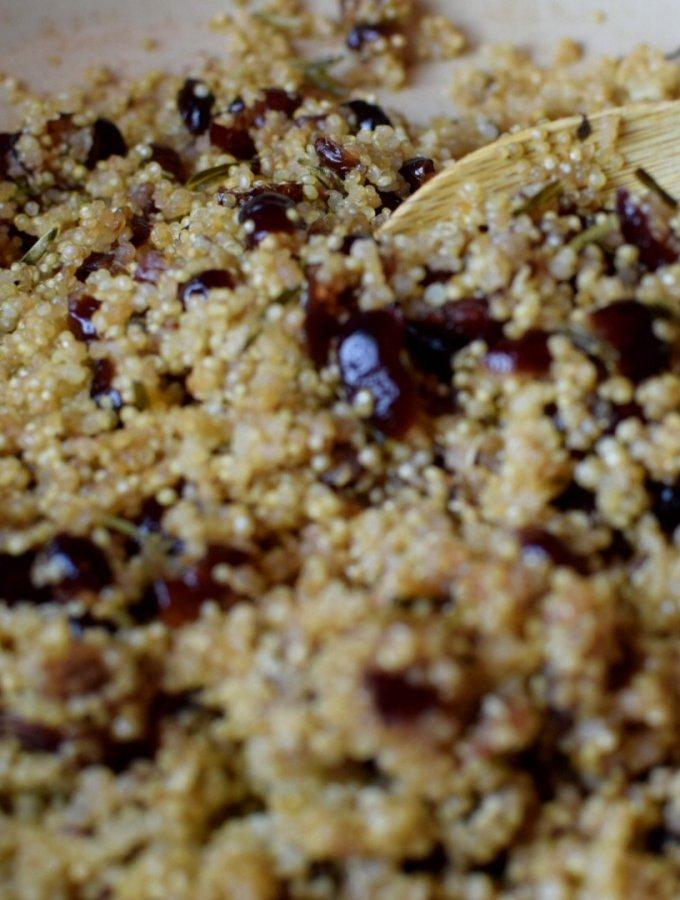 sage cran quinoa