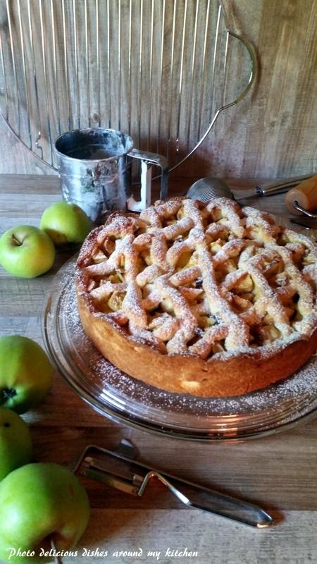 Immer wieder gut…Apfel- Gitterkuchen
