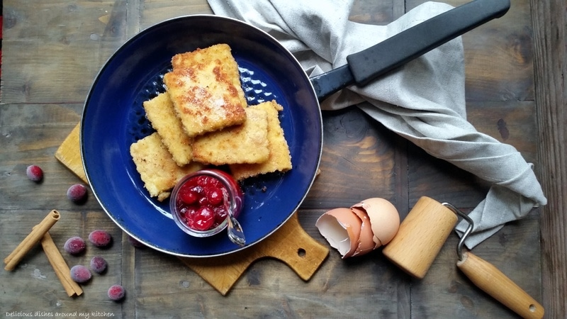 Sweet Dreams…Grießschnitte mit Cranberry- Kompott