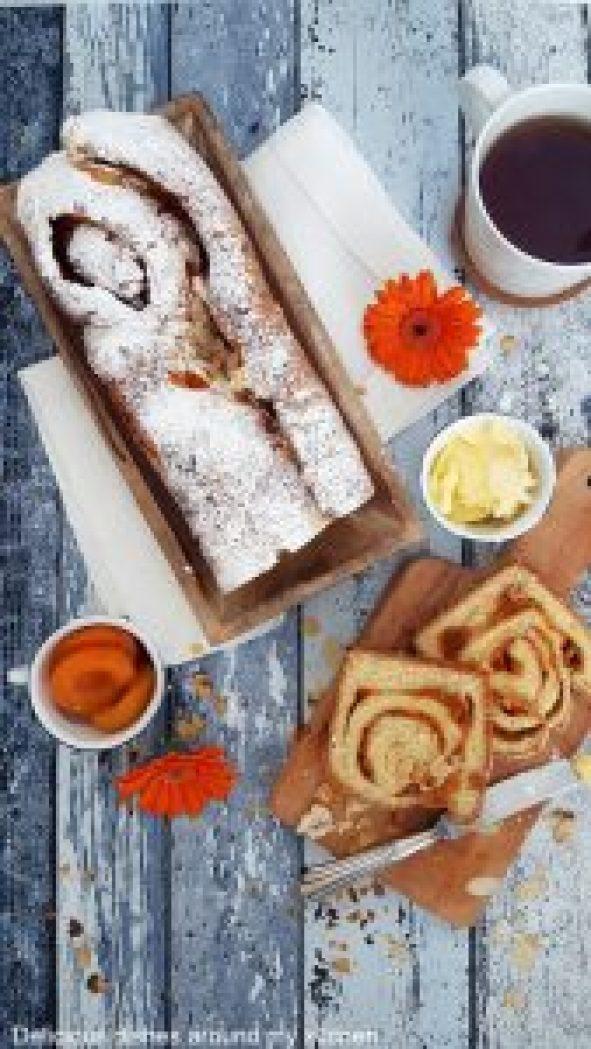 Süßes Aprikosen- Hefebrot mit Tonkabohne