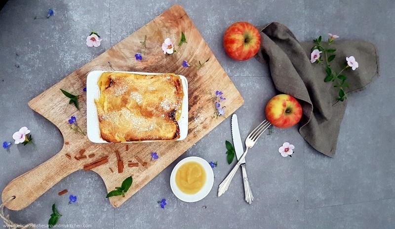 Außergewöhnliches zum Herbst-Apfel- Lasagne
