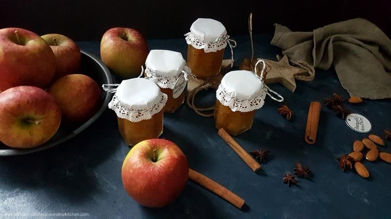 Bratapfel- Konfitüre mit Karamell