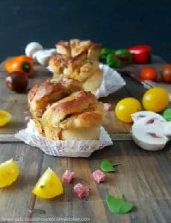 Party- Time - Pull- Apart- Pizza- Friands