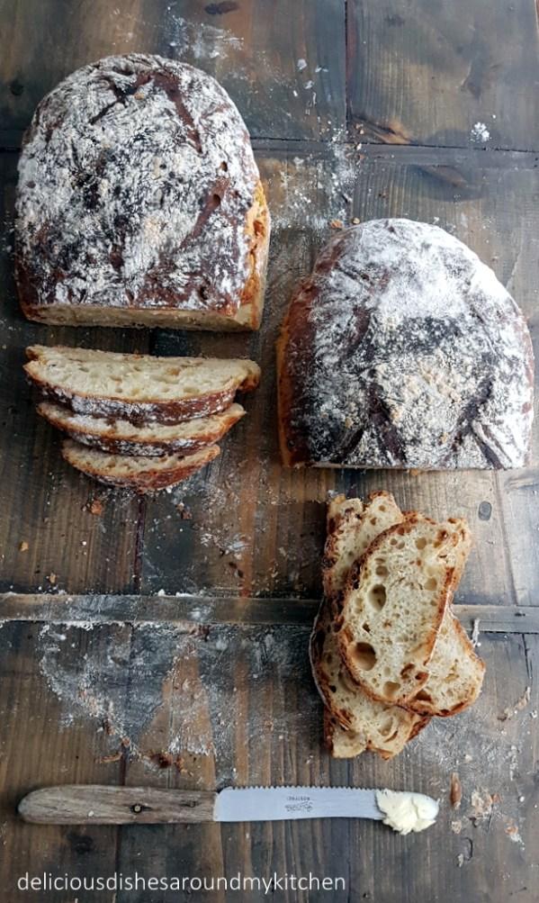 World Bread Day 2018 - Kartoffelbrot mit Zwiebeln