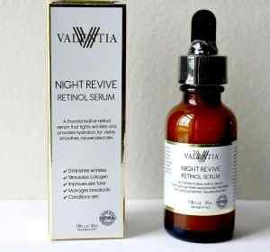 Valencia Night Revive Retinol Serum Review