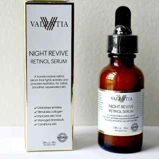 Valencia Night Revive Retinol Serum Review