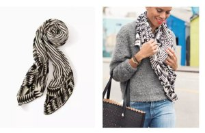 Stella & Dot Scarf and Jewelry Review
