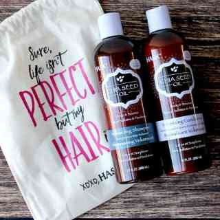 Hask Chia Seed Oil Volumizing Shampoo and Conditioner Review