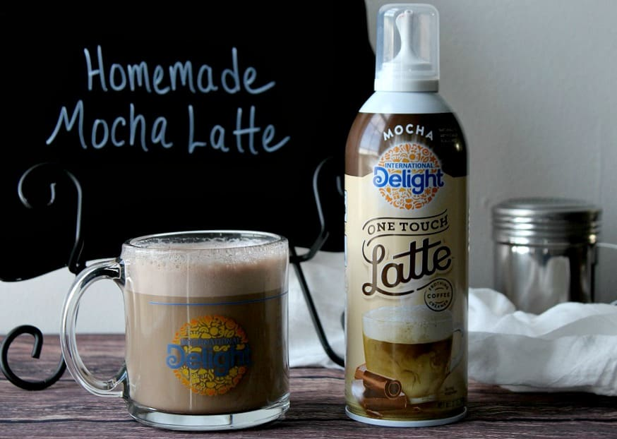Homemade Mocha Latte in 3 Easy Steps