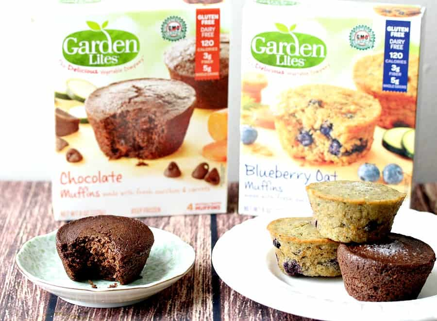 Sneak in Vegetables with Garden Lites Muffins