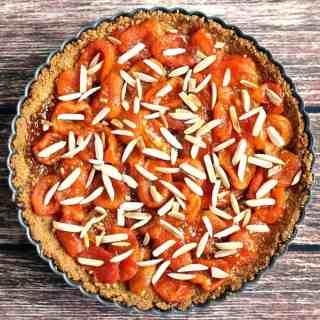 Shortbread Apricot Tart