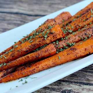 Roasted Chili Spiced Carrots