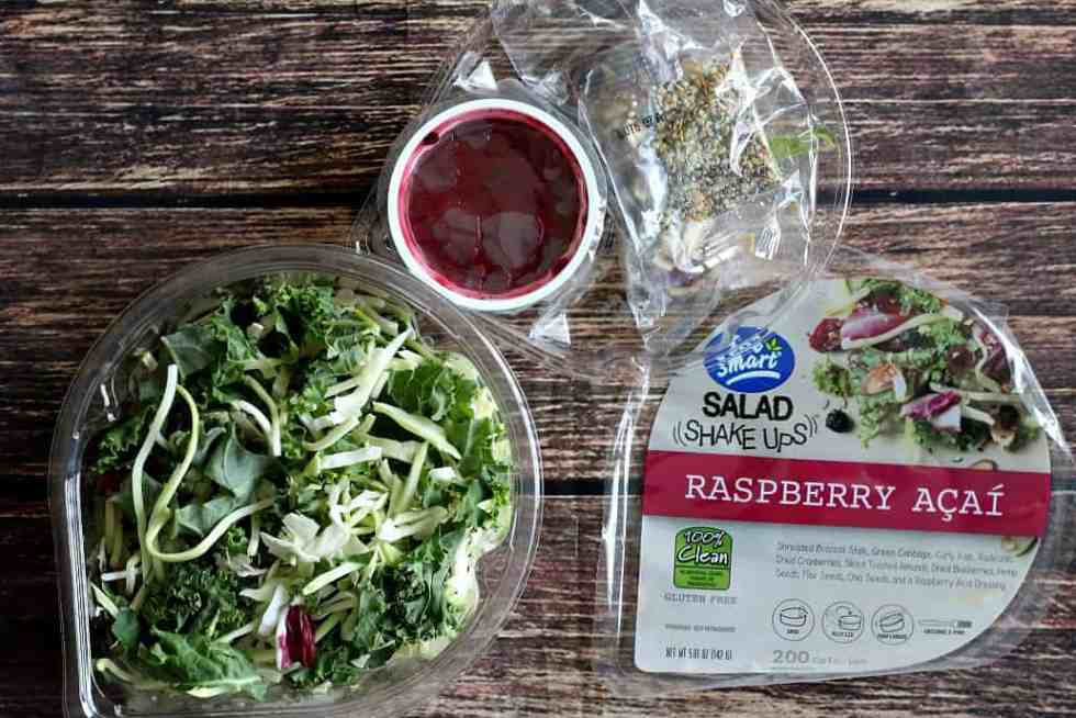 Eat Smart Raspberry Acai Salad Shake Up
