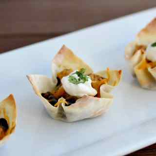 Southwestern Chicken Cups